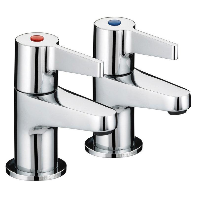 Bristan - Design Utility Lever 3/4 Bath Taps - Chrome - DUL-3/4-C profile large image view 1