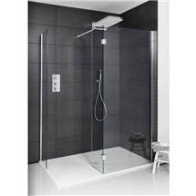 Simpsons - Design View Double Sided Walk In Shower Enclosure - 2 Size Options Medium Image