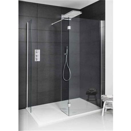Simpsons Design View Double Sided Walk In Shower