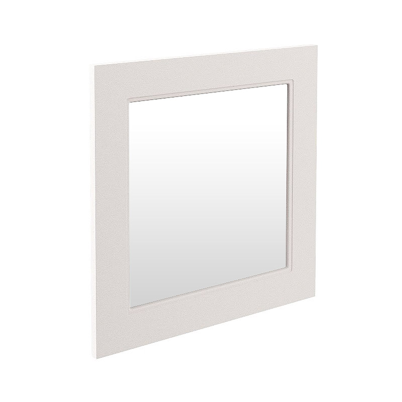 Devon Ivory 600 x 600mm Mirror Large Image