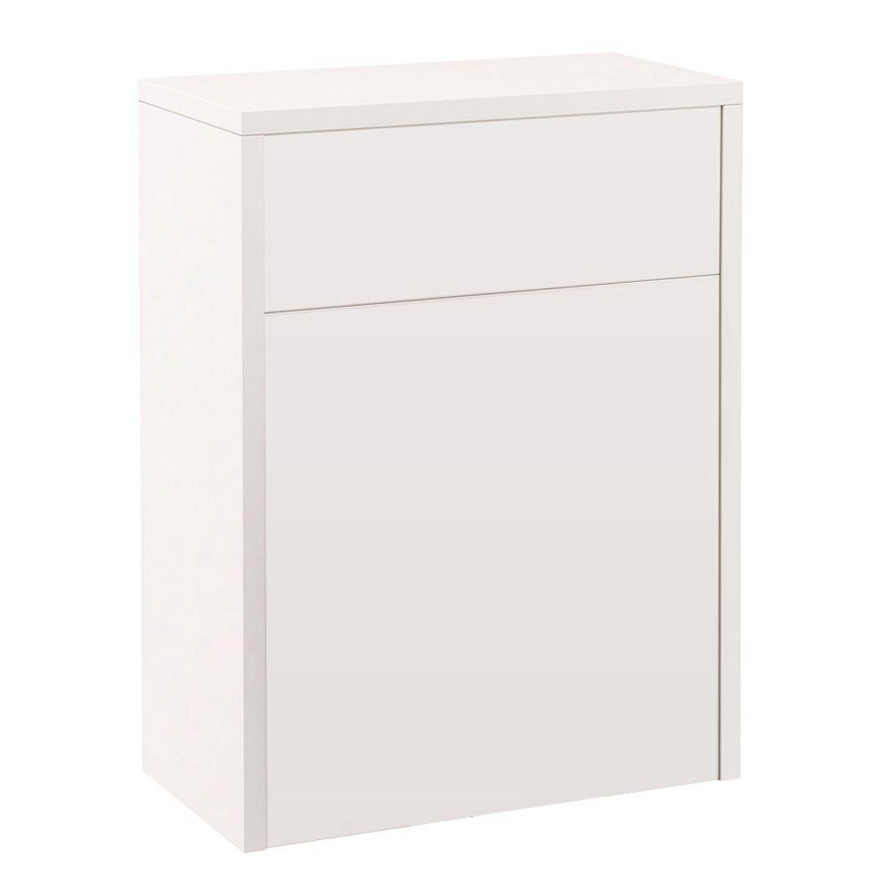 Devon Ivory 600mm Traditional Back To Wall WC Unit Large Image
