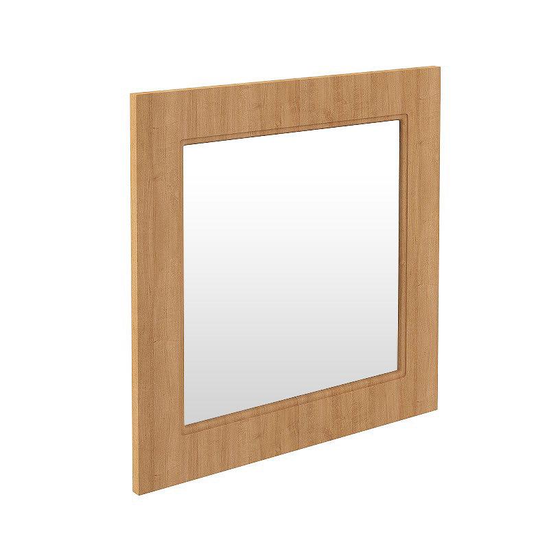 Devon Oak 600 x 600mm Mirror Large Image