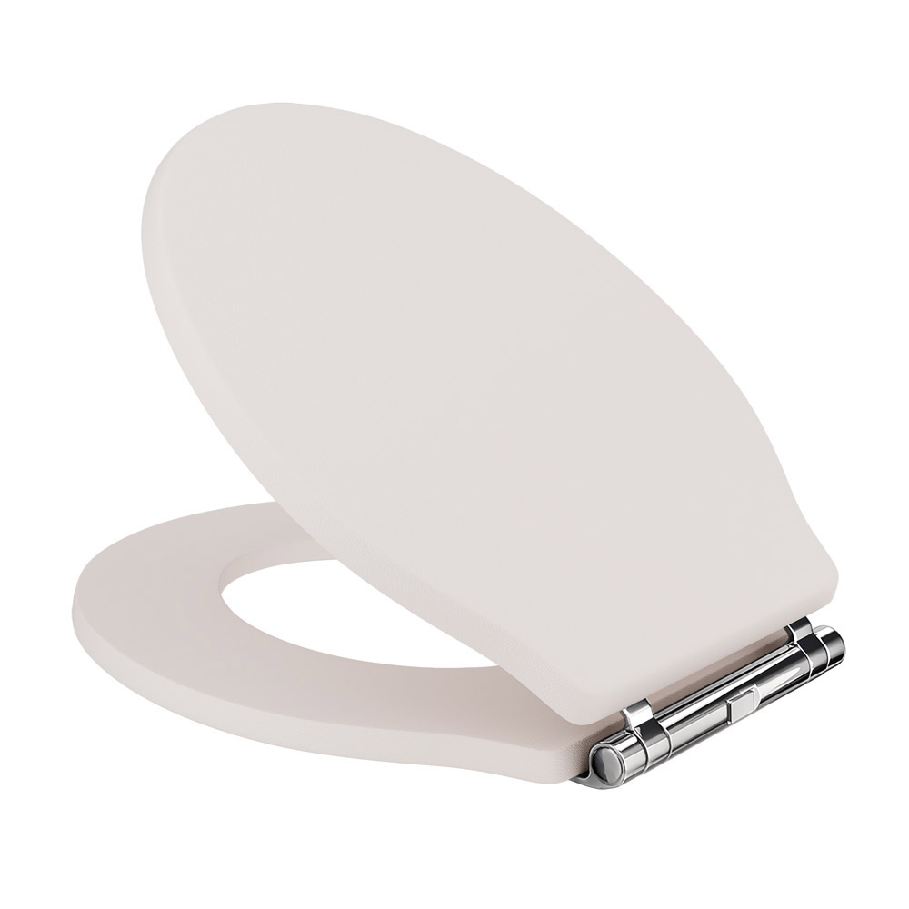 Devon Ryther Close Coupled Toilet with Ivory Soft Close Seat Profile Large Image