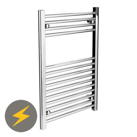 Diamond Electric Heated Towel Rail (500mm x 800mm)