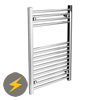 Diamond Electric Heated Towel Rail (500mm x 800mm) profile small image view 1