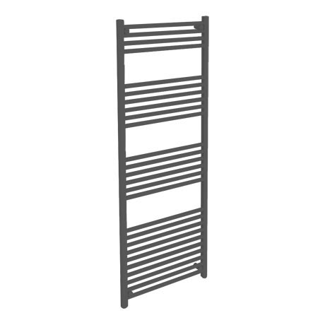 Diamond Heated Towel Rail -  W600 x H1600mm - Anthracite