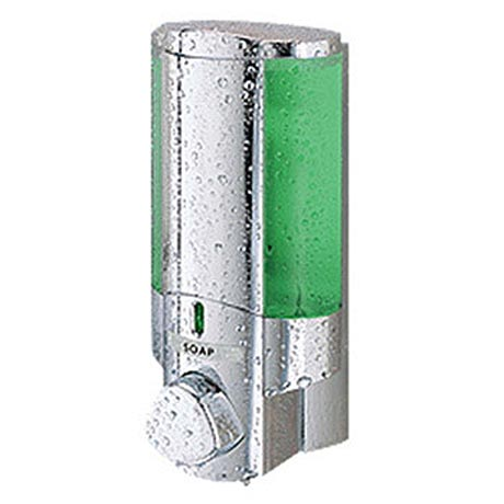 Dolphin - Plastic Shower Dispenser - Chrome - Various Unit Options