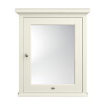 Downton Abbey Traditional Mirror Cabinet (650mm Wide - Ivory) Medium Image