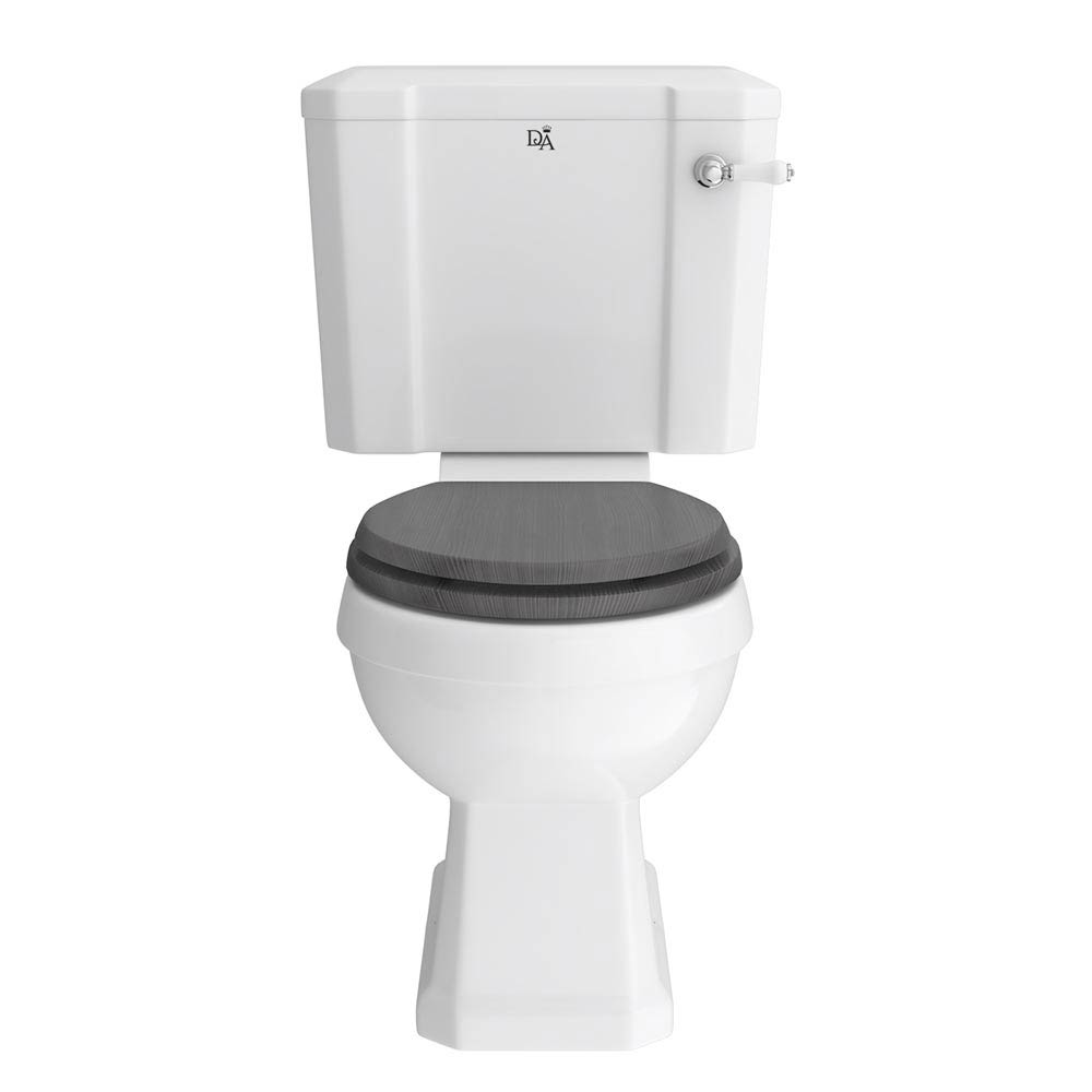 Downton Abbey Carlton Close Coupled Toilet + Soft Close Seat Large Image