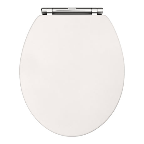 Downton Abbey Carlton Ivory Wooden Soft Close Toilet Seat