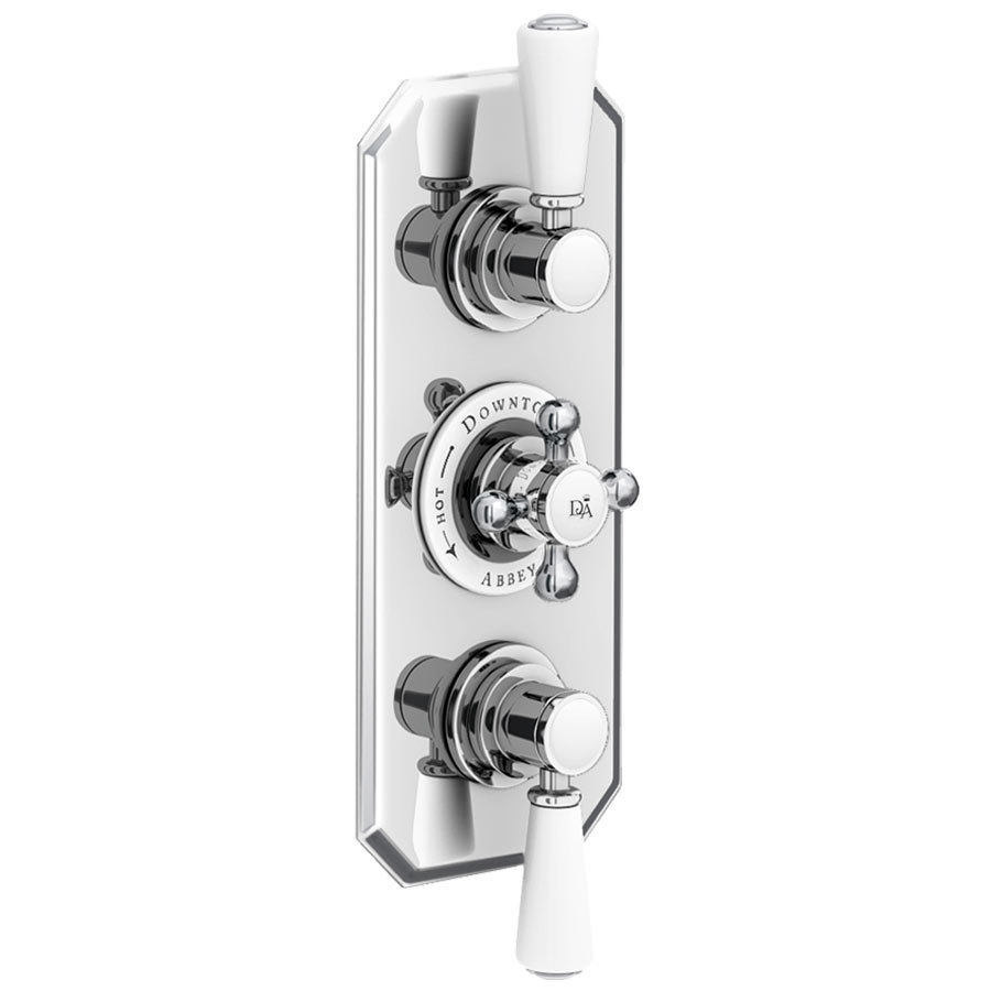 traditional shower valve mobroi com downton abbey chrome traditional triple concealed shower valve