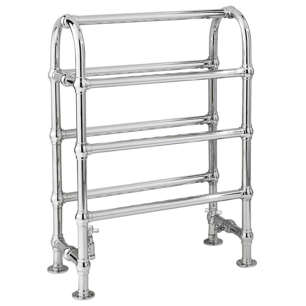 Downton Abbey Duke Traditional Heated Towel Rail Large Image