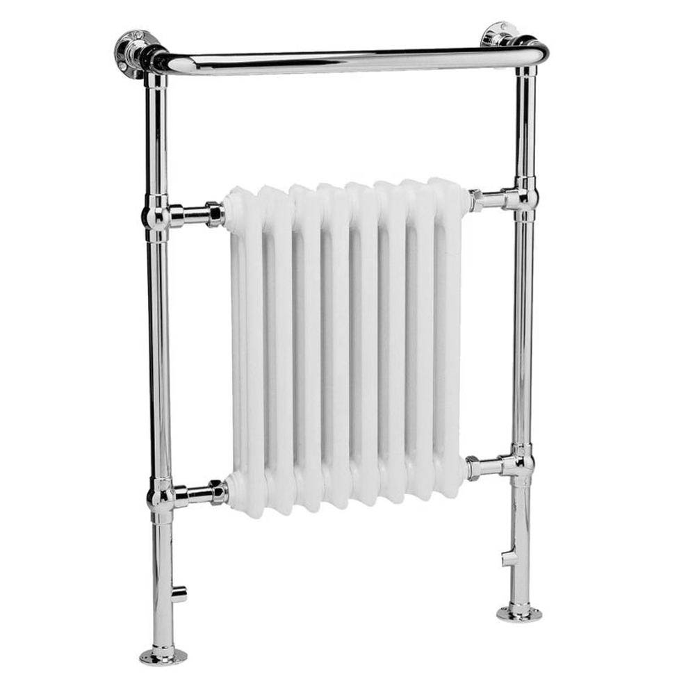 Downton Abbey Harrow Traditional Heated Towel Rail Large Image