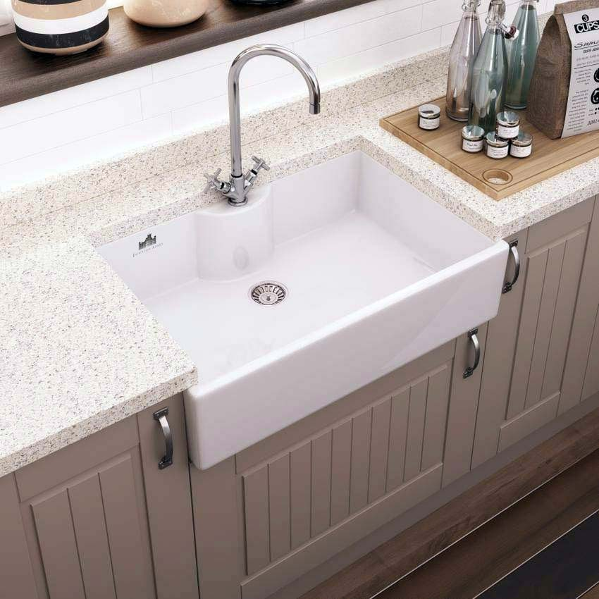 Downton Abbey Butler Kitchen Sink - W795xD500mm - DAFC908 profile large image view 3