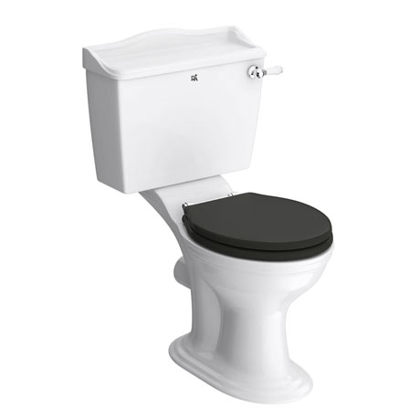 Downton Abbey Ryther Close Coupled Toilet + Soft Close Seat