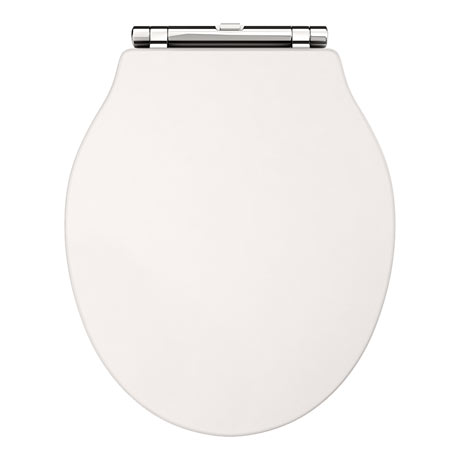 Downton Abbey Ryther Ivory Wooden Soft Close Toilet Seat