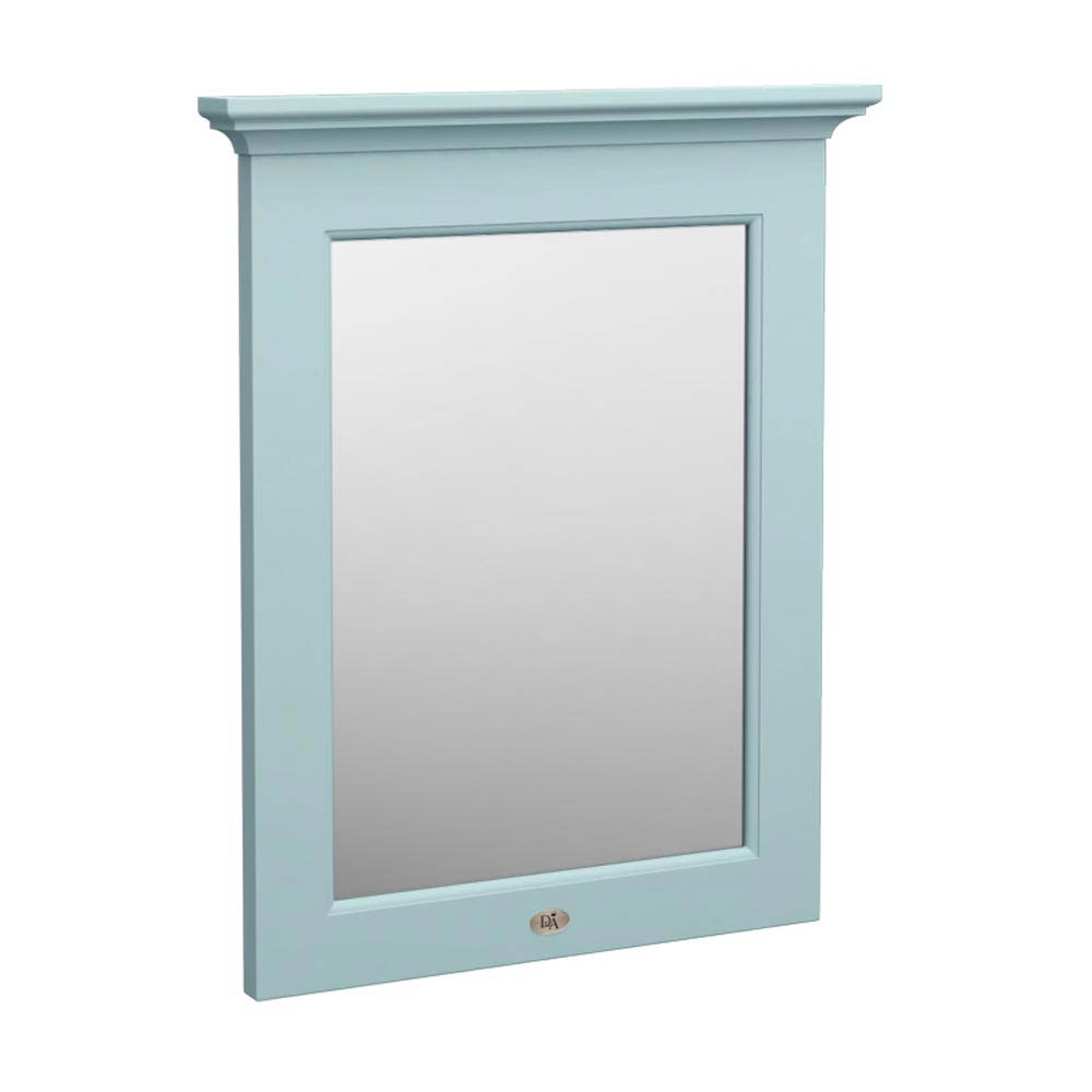 Downton Abbey Traditional Mirror - Duck Egg Blue