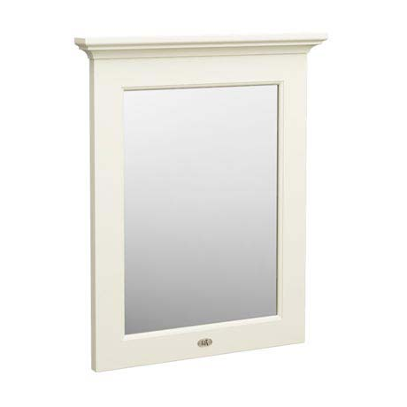 Downton Abbey Traditional Mirror (600mm Wide - Ivory)