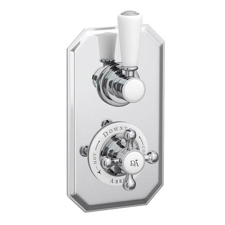 Downton Abbey Twin Concealed Thermostatic Shower Valve