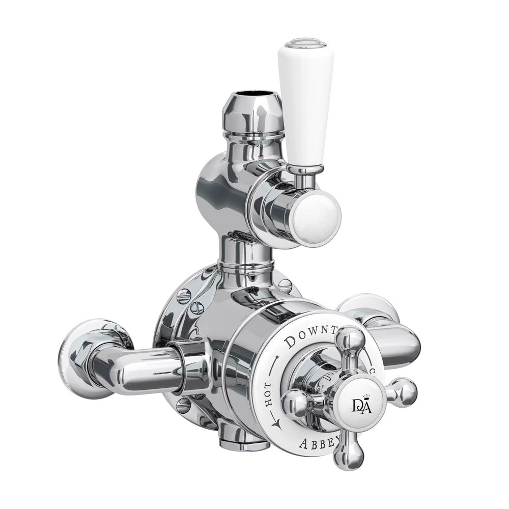Downton Abbey Twin Exposed Shower Valve | Victorian Plumbing.co.uk
