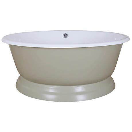 JIG Drum Round Cast Iron Bath (1325x520mm)