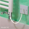 Dual Fuel 600W Summer Electric Element - Chrome profile small image view 1