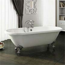 Duke Traditional Roll Top Bath - 1795mm Medium Image