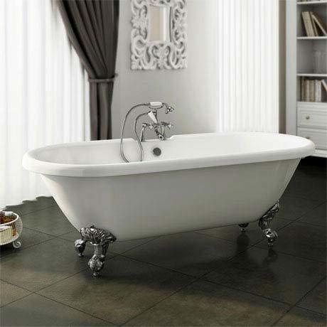 Duke Traditional Roll Top Bath - 1795mm