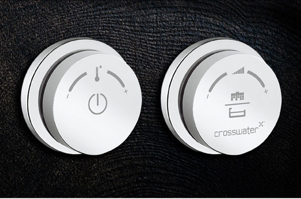 Crosswater Digital Duo 2-Way Processor and Shower Controls with Remote Control Large Image