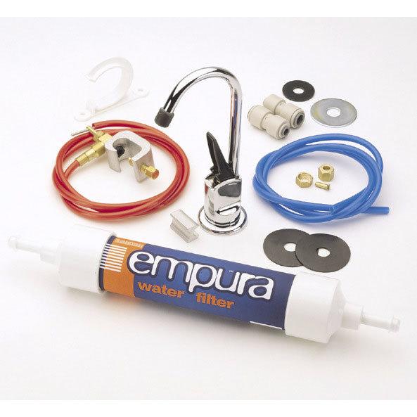 """Bristan - Empura 6"""" Water Filter Kitchen Tap Kit - E-FILT6-C Large Image"""