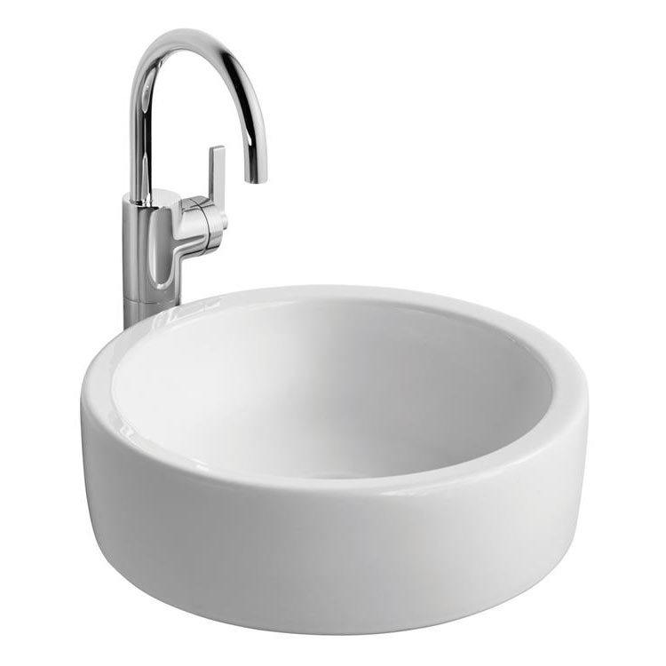 Ideal Standard White Round 40cm 0TH Vessel Basin