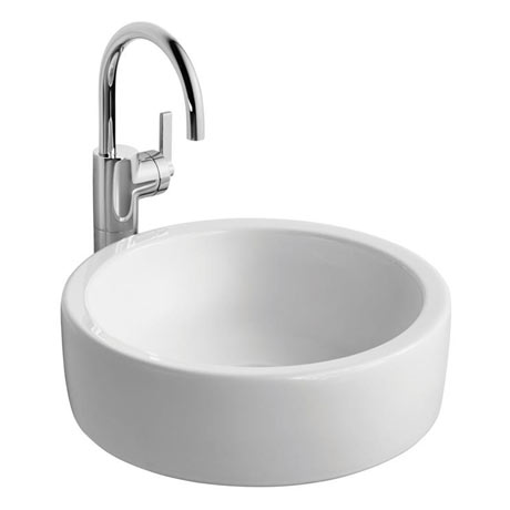 Ideal Standard White Round 40cm 0TH Vessel Basin