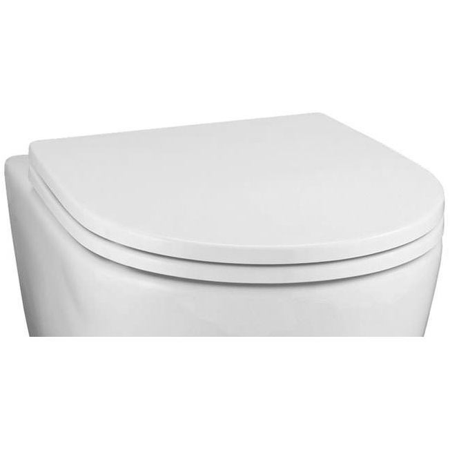 Ideal Standard White Toilet Seat & Cover