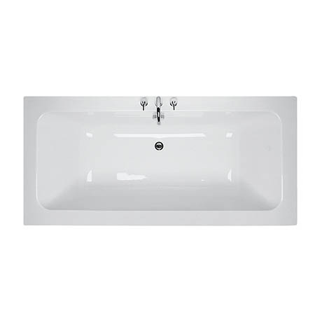 Ideal Standard White 1700 x 800mm 0TH Double Ended Idealcast Bath