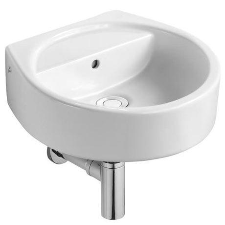 Ideal Standard White Round 40cm 0TH Handrinse Basin