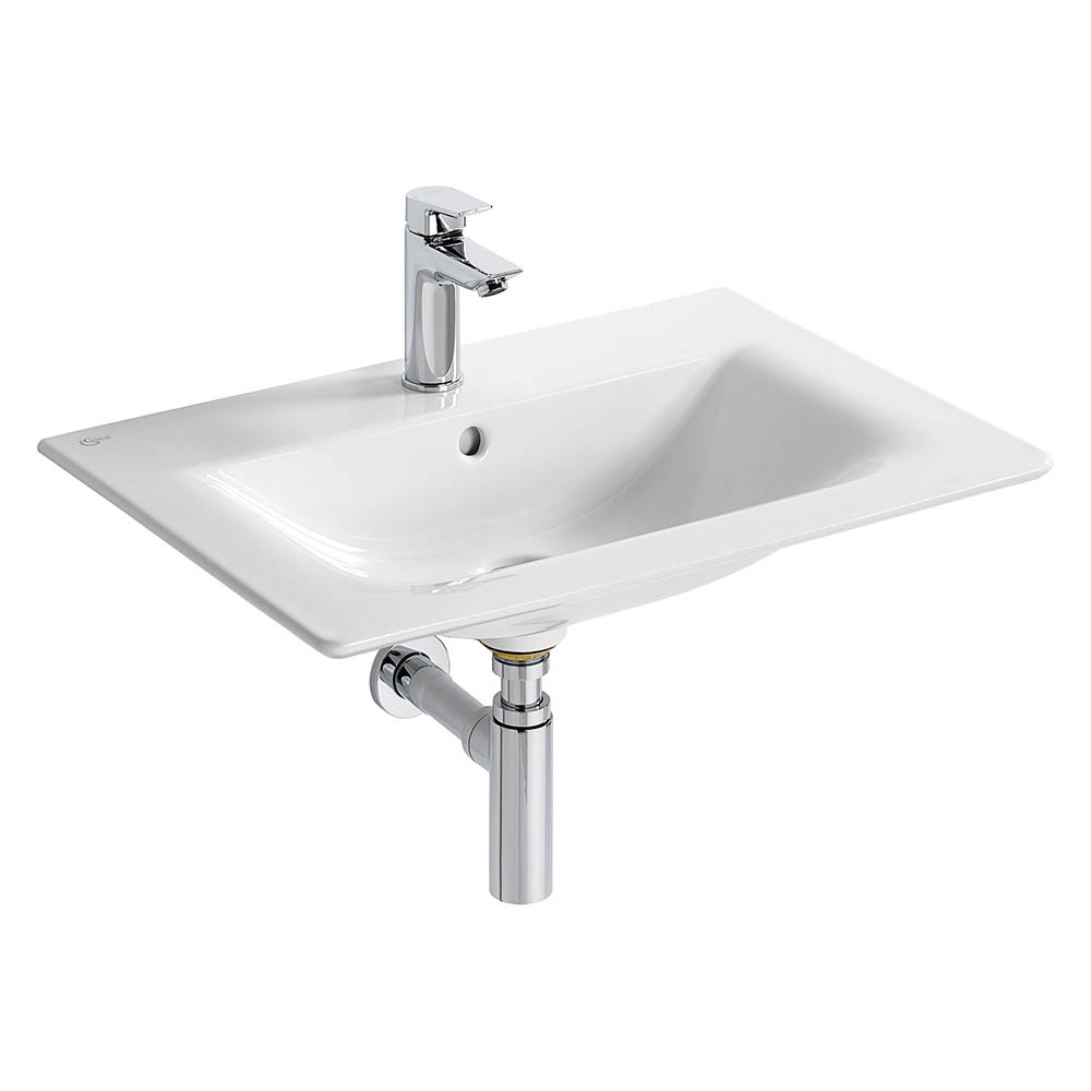 Ideal Standard Concept Air Cube 64cm 1TH Vanity Washbasin