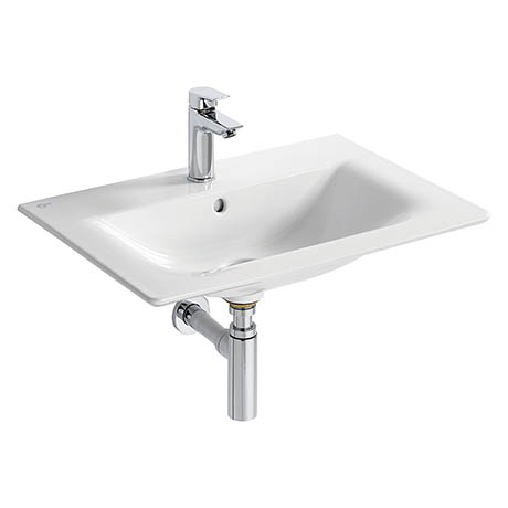 Ideal Standard Concept Air Cube 64cm 1TH Vanity Washbasin