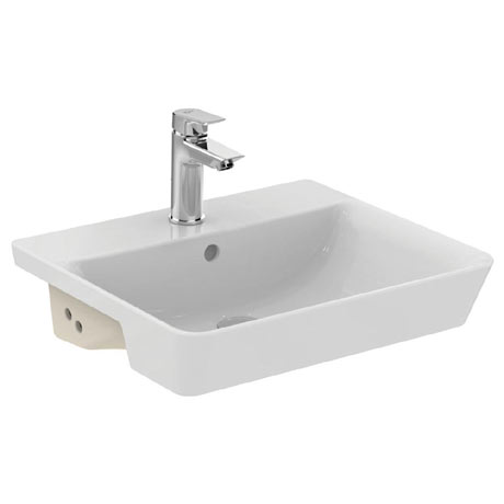 Ideal Standard Concept Air Cube 50cm 1TH Semi Countertop Basin