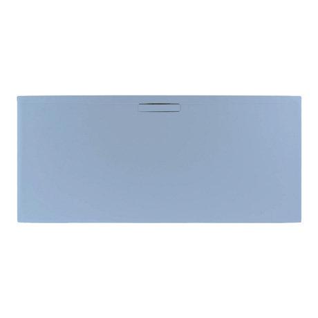 JT Evolved 25mm Rectangular Shower Tray - Pastel Blue