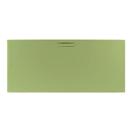 JT Evolved 25mm Rectangular Shower Tray - Sage Green