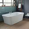 Ideal Standard Concept Air 1700 x 790mm Freestanding Double Ended Bath - E107901 profile small image view 1