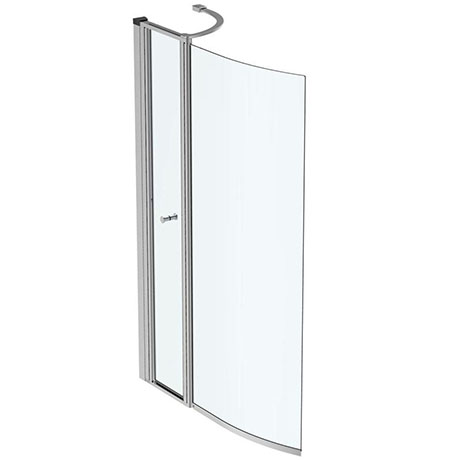 Ideal Standard Concept Air Shower Bath Screen with Access Panel - E1085EO