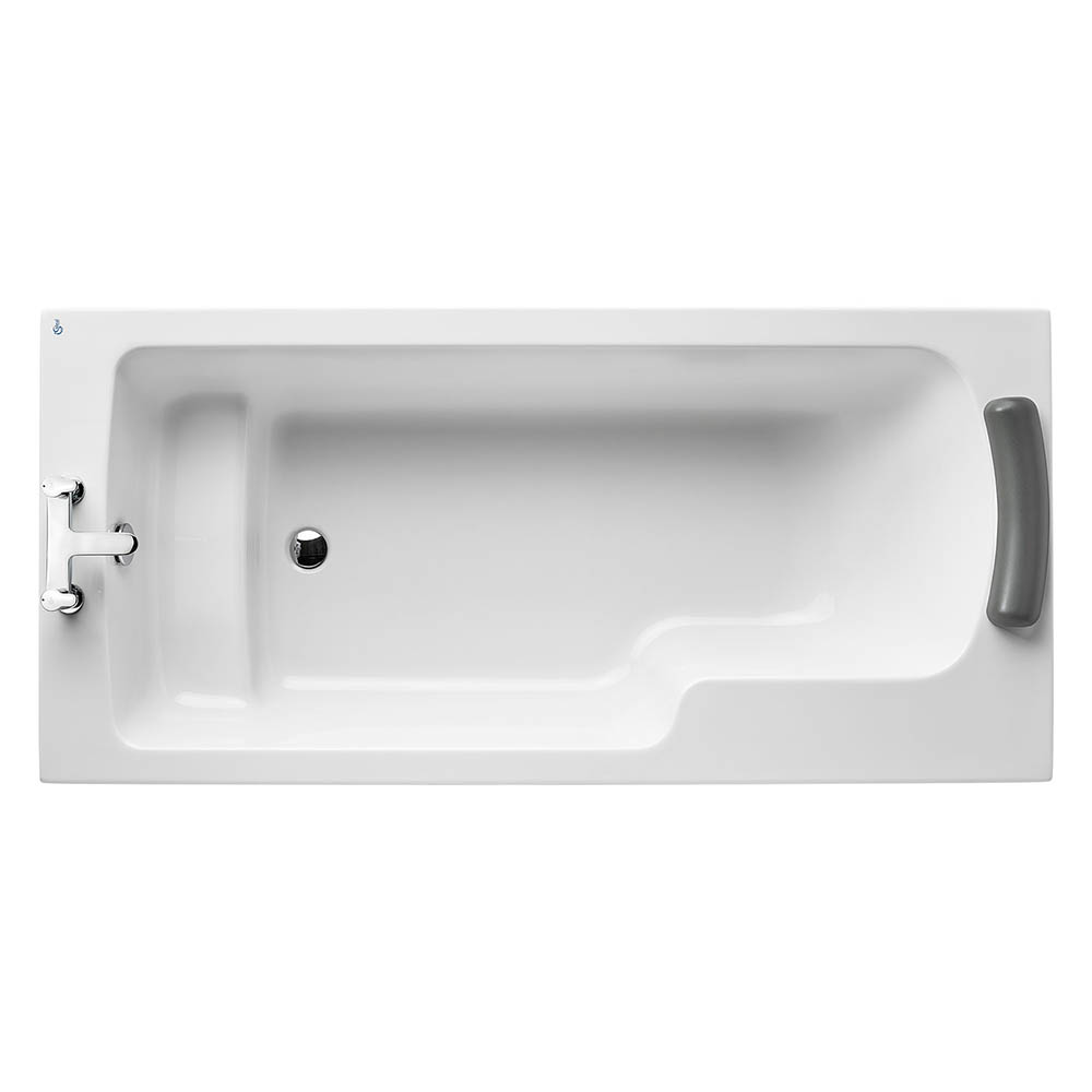 Ideal Standard Concept Freedom 1700 x 800mm 0TH Idealform Plus+ Bath (without Legset) - Left Hand - E116601