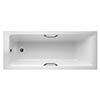 Ideal Standard Concept 1700 x 700mm 0TH Single Ended Idealform Plus+ Bath with Grips profile small image view 1