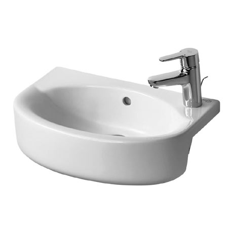 Ideal Standard Concept Space Arc 50cm 1TH Semi-Countertop Basin (Right Hand)