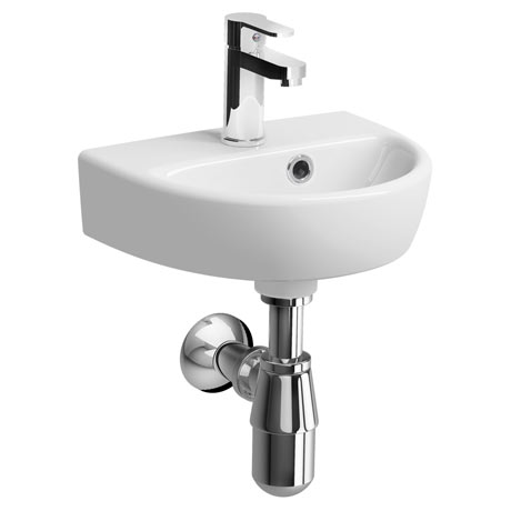 Twyford E100 Round 360mm 1TH Handrinse Basin