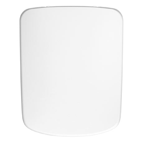Twyford E100 Square Soft Close Toilet Seat and Cover with Quick Release