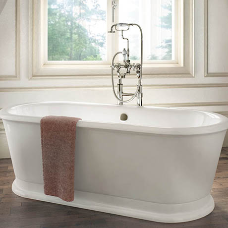 Burlington London 1800 x 850mm Round Soaking Tub - E18