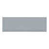 Burlington Arundel 1700mm Bath Side Panel - Classic Grey profile small image view 1