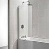 Ideal Standard Tempo Arc Shower Bath Screen - E2571EO profile small image view 1